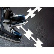 Dalle pour industrie lourde - Dimensions : 100 x 100 cm - Caoutchouc hyper résistant