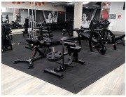 Dalle pour salle de musculation - Dimensions : 500 x 500 mm