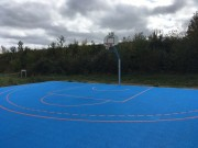 Dalles Basketball 3x3 - Sol pour terrain de basketball 3x3 facile à installer