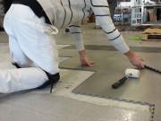 Dalle PVC sans colles - Dalle PVC emboîtable - Résistance : de 40 à 55 t/m2
