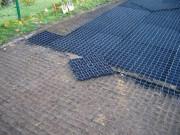 Dalle sol clipsable - Dimensions (m) : 0.5 x 0.5 - Epaisseur : 40 mm