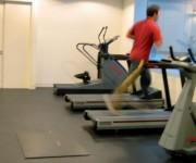 Dalle sol salle de sport - Dalle PVC sols sportifs fitness , musculation.
