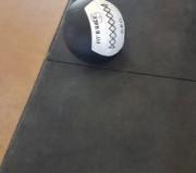 Dalles Caoutchouc 15 mm pour salles de fitness - Conditionnement : A la dalle - Épaisseur et dureté : 15 mm Shore A
