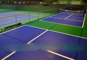 Dalles de sol clipsable pour terrain de tennis - Surface de Tennis agréée ITF