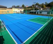 Dalle de sol sportif hockey futsal basket - Dalles Clipsables pour Multisport