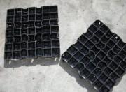 Dalles engazonnées en plastique - Polyéthylène haute densité