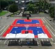 Dalles pour courts mini tennis - Dimensions (L x h) : 1458 x (33 x 33) cm - Surface : 162 m²