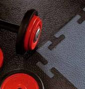 Dalles pour salles de sport - En caoutchouc - Épaisseur : 10 mm