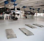 Dalles PVC 7 mm pour garages - Conditionnement : 8 dalles / carton (2 m²) - Épaisseur et dureté : 7 mm Shore A