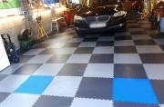 Dalles pvc pour garages et ateliers - 5 épaisseurs : 9, 8, 7, 5, 4 mm