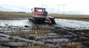 Travaux agricoles en zone humide - Travail en zone humide sans trace