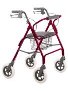Déambulateur sur roues - Poids supporté (Kg) : 227