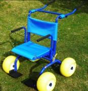 Déambulateur tout-terrain à roues - Rollator d'extérieur à poignée réglable