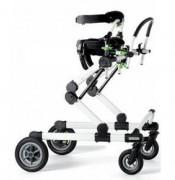 Déambulateur verticalisateur enfant et adolescent - Déambulateur 4 roues à système de pliage simple