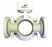 Débimètre en ligne pour liquide - Plage de mesure : 65/1 (à partir d'une vitesse de 0,1 m/s)
