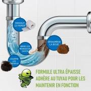 Déboucheur bio dégradable toute canalisation - Sans phosphate - Sans composant organiques volatils (voc)