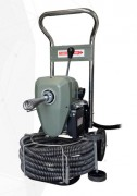 Déboucheur de canalisation électrique à spirale de nettoyage 30 mm - Appareil plomberie : réseaux domestiques diam. 50/200 mm
