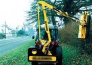 Débroussailleuse à bras hydraulique pour tracteur - Portée horizontale (m) : 4.2