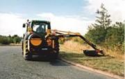 Débroussailleuse hydraulique pour tracteur
