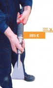 Décapeur pneumatique - Longueur total 45 cm avec outil