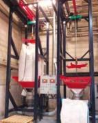 Déchargeur big bag à palan électrique - Charge : de 500 à 2000 kg