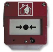Déclencheur manuel d'alarme incendie - Utilisation : Hors zones à risques d'explosions