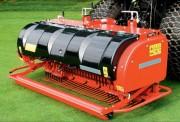 Décompacteur gazon pour sol sportifs - Largeur de travail : 1400 ou 1800 mm