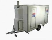 Décontamination mobile anti amiante - Caravane de décontamination AMIANTE