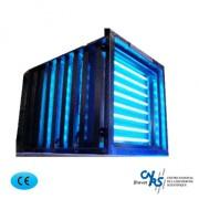 Décontamineur purificateur d'air autonome ou encastrable - Décontaminateur et purificateur d'air pour ana-path, local de stockage, container - Capacité 500 m3/h