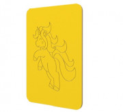 Décor unicorne pour crèche - L:500 mm; H:700 mm