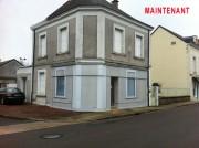 Décoration de façade commerce - Habillage décoration de façade en trompe l'oeil