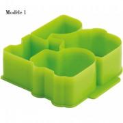 Découpe sandwichs - Dimensions L x l x H mm: 110 x 100 x 40