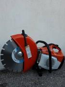 Découpeuse thermique diamètre 300 mm - Disponible en version disque fibre ou avec disque diamant