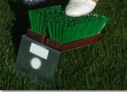 Décrottoir à chaussures de foot - Longueur 42 cm   -   Largeur 18 cm