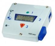 Défibrillateur automatique portatif usage simple public - Défibrillateur FRED easy Online connecté en permanence au réseau