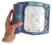 Défibrillateur semi-automatique - Dimensions (L x l x H) cm : 21 x 7,1 x 19