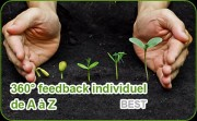 Démarche 360° feedback individuel de A à Z (formule best) - Déclenchement du changement garanti ! Déterminer des objectifs de développement pertinents et élaborer le plan de progrès individuel : 2 à 3 objectifs de développement ; suivi du plan de progrès à l'aide d'une séance dans les 3 à 6 mois
