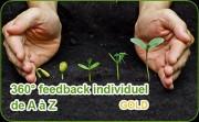 Démarche 360° feedback individuel de A à Z (formule gold) - Déclenchement du changement garanti ! Déterminer des objectifs de développement pertinents et élaborer le plan de progrès individuel : 2 à 3 objectifs de développement ; suivi du plan de progrès à l'aide de 2 séances dans les 3 à 6 mois