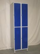 Demi casier vestiaire 4 casiers - 2 colonnes / 4 casiers