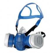 Demi masque de protection respiratoire - Différents filtres adaptables selon type de protection