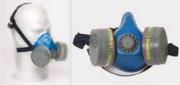 Demi-masque respiratoire à cartouches
