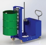 Dépalettiseur a levage hydraulique - Optimisez la manipulation de vos fûts sur palette