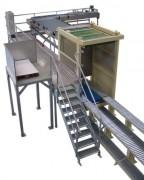 Dépalettiseur automatique overband - Jusqu'à 6 couches par minute - Haute cadence