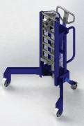 Dépalettiseur d'angle - Élévateur hydraulique