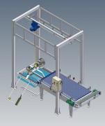 Dépalettiseur semi automatique - Puissance électrique : 3 kW - 380 v