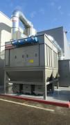 Dépoussiéreur à cartouches filtrantes - Débit : de 1 000 à 40 000 m³/h