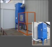 Dépoussiéreur à voie sèche - Aspiration de poussières dangereuses | gamme de 500 à 37.500m³/h