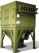 Dépoussiéreur industriel aspiration bois - Filtration par poches en tissu ou cartouches