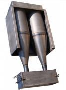 Dépoussiéreur suie et poussière - Extracteur avec moteur de 400 V tri - Puissances : 0,22 kW / 1 kW