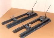 Dérouleur à rouleaux fortes charges - Pour tourets de Diamètre : 750 à 3400 mm